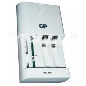 Caricabatterie Universale Ioni di Litio e NimH AA/AAA Bianco