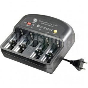 Caricabatterie Universale per NiCD e NiMh con Funzione di Scarica