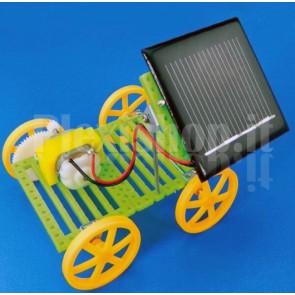 Carrello ad energia solare DIY