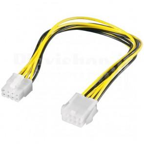 Cavo prolunga EPS 12V 8 pin M/F