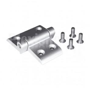 Cerniera in alluminio