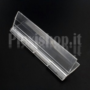 Clear Acrylic hinge 100x58mm