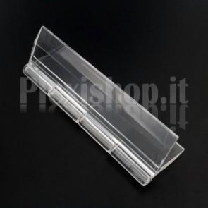 Clear Acrylic hinge 100x58mm