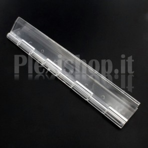Clear Acrylic hinge 150x42mm