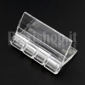 Clear Acrylic hinge 30x33mm