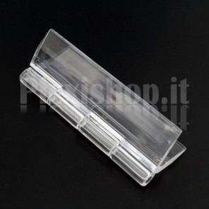 Clear Acrylic hinge 65x41mm
