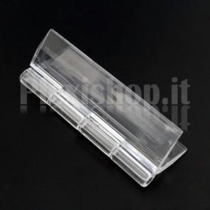 Clear Acrylic hinge 65x41mm