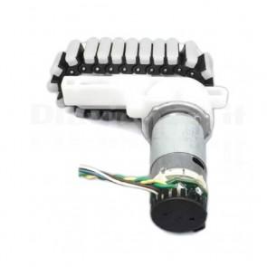 Cingolato motorizzato con encoder