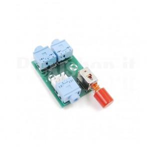Commutatore audio XH-M371 2CH con jack 3.5mm
