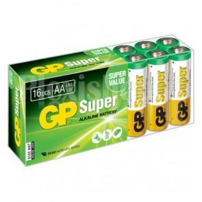 Confezione 16 Batterie AA Stilo GP Super