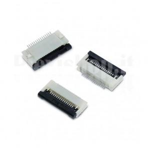 Connettore FFC/FPC 12P da montaggio superficiale (SMT)