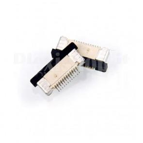Connettore SMT da circuito stampato per cavo piatto FFC / FPC , 12P passo 0.5mm