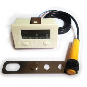Contatore digitale con magnete di presenza