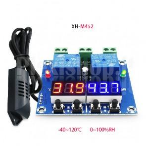 Controller di temperatura e umidità XH-M452