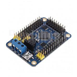 Controller ed espansione Servo a 32 canali con seriale, USB e BluetoothController ed espansione Servo a 32 canali con seriale, USB e Bluetooth