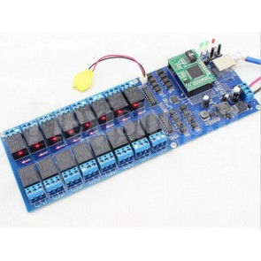 Controller ethernet USR-R16-T con 16 Relay indipendenti