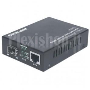 Convertitore RJ45 10/100/1000 Gigabit Ethernet slot SFP