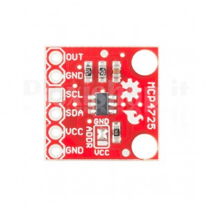 Convertitore DAC I2C per Arduino, MCP4725