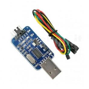 Convertitore USB RS232 TTL, CH340G
