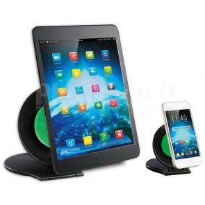 Coppia Stand Universali da Tavolo per Tablet e Smartphone a Ventosa