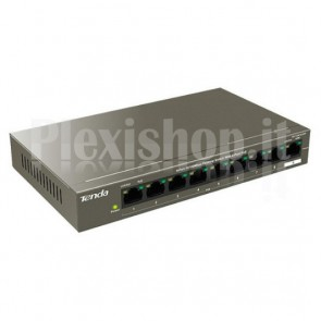 Desktop Switch 9 Porte 10/100 Mbps con 8 Porte PoE