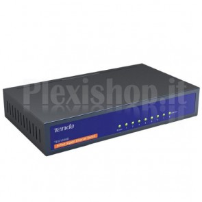 Desktop Switch 8 Porte Gigabit Blu TEG1008D