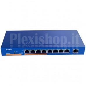 Desktop Switch 9 Porte Gigabit con 4 Porte PoE Plus