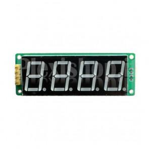 8-digit 4-segments LED Display, colour green