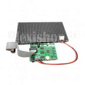 LED matrix 16x32 RGB display
