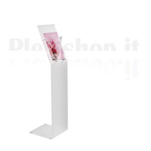 Plexiglass Freestanding Floor Display Aluminium supports