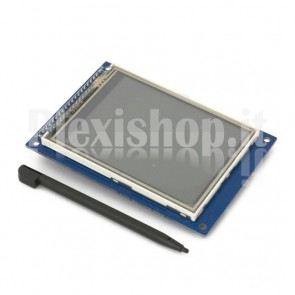 "Display Touchscreen LCD 3.2"" TFT01 compatibile con Arduino"