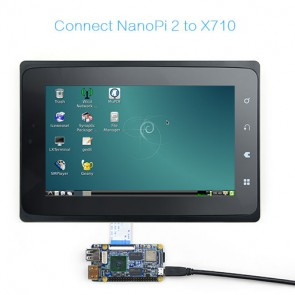 "Display touchscreen LCD TFT FriendlyARM  X710 da 7.0"""