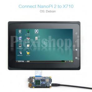 "Display touchscreen LCD TFT FriendlyARM S702 da 7.0"""