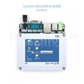 "Display touchscreen LCD TFT FriendlyARM W35B da 3.5"""