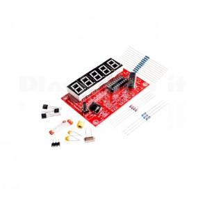 DIY Prova quarzi con frequenzimetro 1-50MHz