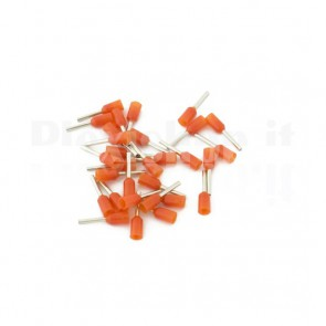 Puntale boccola singolo a crimpare - E0508