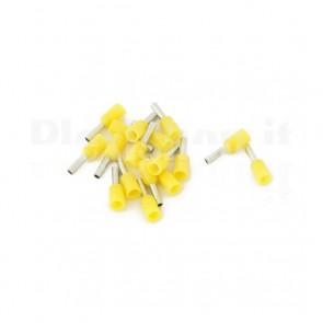 Puntale boccola singolo a crimpare - E1006
