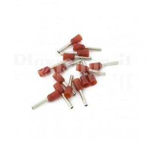 Puntale boccola singolo a crimpare - E1510