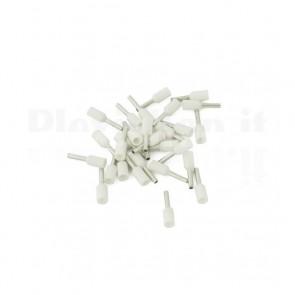 Puntale boccola singolo a crimpare - E7506