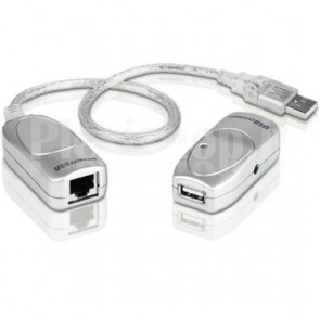 Extender USB su Cavo di Rete RJ45 Cat.5/5E/6 fino a 60m, UCE60-AT
