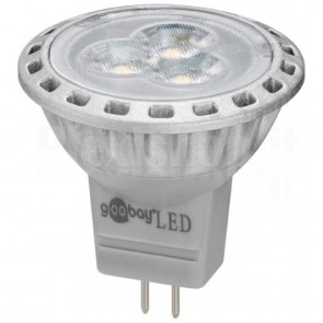 Faretto LED GU4 2 W 170 Lumen Bianco Caldo, Classe A+