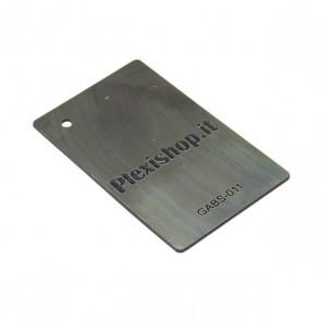 ABS Double Colour Silver/Black 3,0 mm