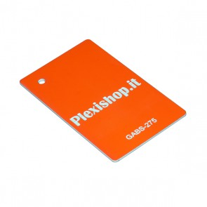 ABS Double Colour Fluorescent Orange/White 1,5 mm