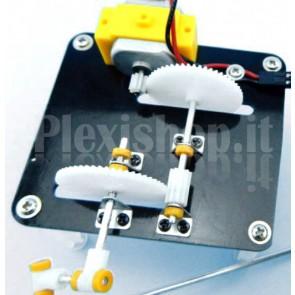 Generatore di luce a manovella DIY