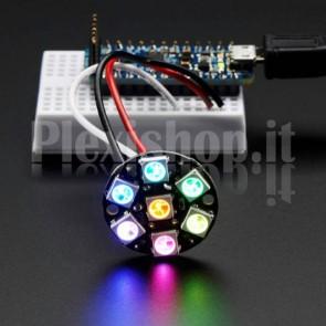 Gioiello LED NeoPixel con 7 LED RGB SMD WS2812B