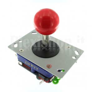 Joystick Zippyy 2-way/4-way/8-way con leva da 50mm