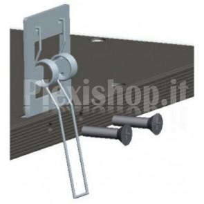 Kit di Montaggio ad Incasso con Clip per Pannelli LED