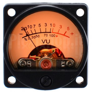 Kit VU Meter Analogici Vintage Retroilluminati