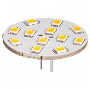 Lampada 12LED SMD G4 5050 2 W 190 Lm Bianco Freddo, Classe A++