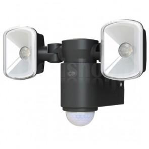 Lampada 2 LED a Muro da Esterno con Sensore di Movimento RF3.1